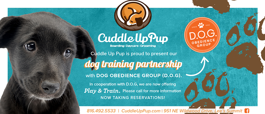 CUP dog training partnership 1